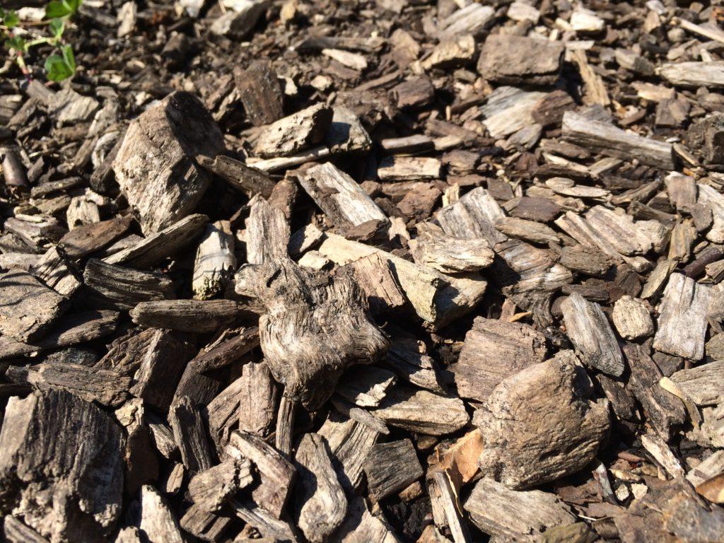 Rindenmulch verbessert die Bodenqualität