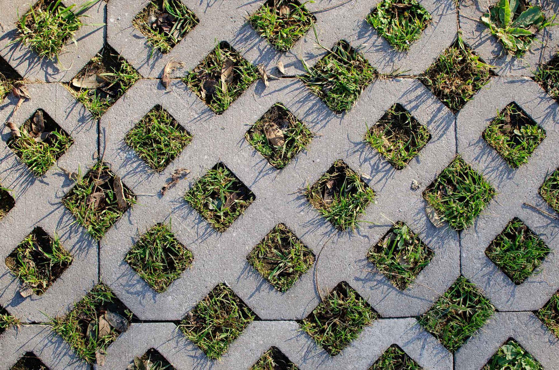 Rasengittersteine aus Beton oder Kunststoff?
